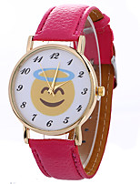 Women's Fashion Analog Stripe Ladies' Cartoon Display Strap Bohemia Quartz Wrist Watch
