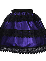 Shaperdiva Purple Retro Victorian Punk Mini Steampunk Skirts