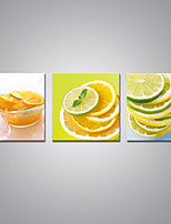 Stretched Canvas Prints  Lemon Drinks Contemporary Art for Wall Decoration