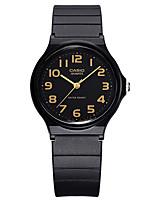 Casio Unissex Relógio Esportivo Relógio de Moda Japanês Quartzo Impermeável Borracha Banda Casual Preta