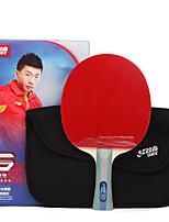 5 Stars Ping Pang/Table Tennis Rackets Ping Pang Wood Long Handle Pimples