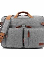 Saco do caderno do saco de ombro da trouxa da trouxa da bolsa do portátil do negócio de 17.3 polegadas para o dell / hp / lenovo / sony /