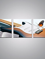 Stretched Canvas Prints Guitar Picture Print on Canvas Contemporary Music Art for Wall Decoration
