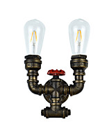 qsgd ac220v-240V 8W E27 אור הוביל אור swall הוביל קיר פמוטים מנורה חרב אור שחור מטומטם מנורת קיר ברזל קיר על הקיר אירופה וארה