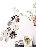 Botánico Pegatinas de pared Adhesivos de Pared Espejo Calcomanías Decorativas de Pared,Vinilo Material Decoración hogareñaVinilos