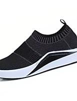Для мужчин Мокасины и Свитер Удобная обувь Тюль Весна Осень Повседневные Для прогулок Удобная обувь Комбинация материаловНа плоской