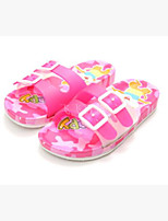 Girls' Slippers & Flip-Flops Summer Slingback Rubber Casual Flat Heel