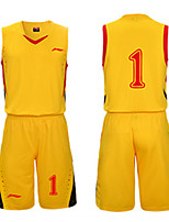 Unisexe Manches Courtes Basket-ball Maillot + Short/Maillot+Cuissard Baggy Respirable