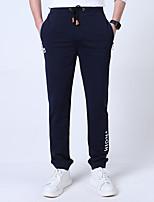Homme Pantalon/Surpantalon Pêche Respirable Garder au chaud Printemps Bleu Noir Gris