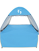 3-4 personnes Tente Unique Tente automatique Une pièce Tente de camping 1500-2000 mm Acier inoxydable OxfordRésistant à l'humidité