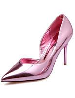 Talons féminins printemps confort pu occasionnel champagne lumière rose bleu rose