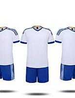 Football Maillot + Short/Maillot+Cuissard Respirable Eté Classique Polyester Football
