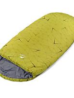 Спальный мешок Прямоугольный Односпальный комплект (Ш 150 x Д 200 см) 5 Пористый хлопок100 Походы Сохраняет тепло Переносной