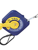 Blue Round Square Box Long Tape Measure 15M * 12.5Mm (Gw-1508-1)