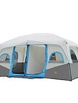 > 8 personnes Double Deux pièces Tente de campingCamping Voyage