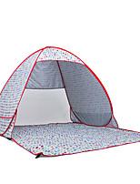 2 Personen Zelt Einzeln Automatisches Zelt Einzimmer Camping Zelt Edelstahl Transportabel-Camping Reisen