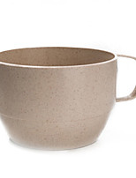 The Wheat Straw Non Disposable Art Tea Cup