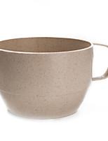 A chávena de chá não descartável de palha de trigo