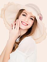 Silk Headpiece-Wedding Special Occasion Casual Outdoor Hats 1 Piece
