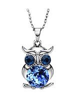 Жен. Ожерелья с подвесками В форме животных Позолота Животный дизайн Бижутерия Для Для вечеринок День рождения Повседневные 1шт