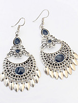 Drop Earrings Unique Design Dangling Style Euramerican Fashion Vintage Bohemian Luxury Alloy Flower Drop Sun Jewelry ForWedding Party