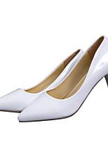 Damen-High Heels-Outddor Büro Lässig-PU-Stöckelabsatz-Club-Schuhe-