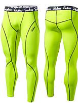 Homme Course / Running Collants Séchage rapide Design Anatomique Compression Bandes Réfléchissantes Doux Sensation de MaintienPrintemps