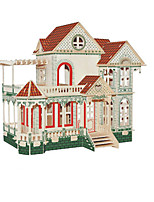 Jigsaw Puzzles 3D Puzzles Building Blocks DIY Toys Famous buildings Wood Model & Building Toy