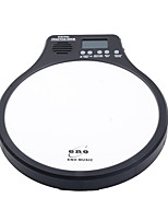 1PCS ENO Digital Drumming Practice Drum Pad With Metronome 3 in 1 For Drummer Black White Green Orange Metronomer Electronic Practise Pad