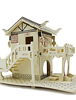 Jigsaw Puzzles 3D Puzzles Building Blocks DIY Toys Wood Model & Building Toy