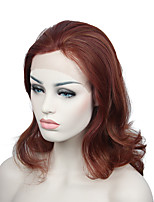 Discount Heat Resistant Fiber Lace Front Wig Medium Length Women Wigs