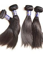 Перуанский Реми волос Пряди натуральных волос Реми Прямые Натуральные волосы Реми