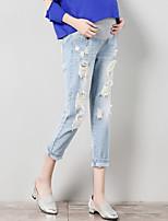 מכנסיים צ'ינו strenchy משוחרר גיזרה גבוהה אחיד בלוק צבע פָּשׁוּט סגנון רחוב נשים