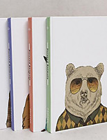 Color Animal Paper Notebook Random Pattern