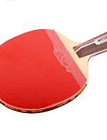 2 Stars Ping Pang/Table Tennis Rackets Ping Pang Wood Short Handle Pimples