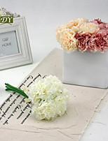 1 Филиал Полиэстер Магнолия Букеты на стол Искусственные Цветы