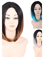 Европа и Соединенные Штаты продают бобо волос высокотемпературный провод короткий женский Боб градиент парик 10inch