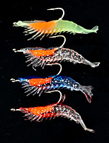 2 pcs Lure kits Fishing Lures Craws / Shrimp g/Ounce,65 mm/2-5/8