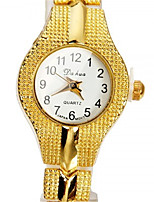 Women's Fashion Watch Wrist watch Quartz Alloy Band Gold