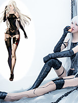 Inspired by Cosplay Cosplay Video Game Cosplay Costumes Cosplay Suits Sleeveless Coat Pants Gloves