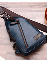 Men PU Outdoor Sling Shoulder Bags All Seasons