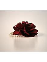 Wedding Flowers Round Wrist Corsages Wedding Party/ Evening Satin Rhinestone 7.87