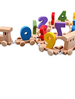 Building Blocks Educational Toy For Gift  Building Blocks Model & Building Toy Train Wood 2 to 4 Years 5 to 7 Years Toys
