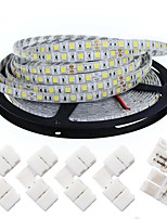 KWB LED Light Strips 5050  5M 300 leds  4200 lm Warm White /White(DC 12V) With 5PCS 5050 Strip Light Connector