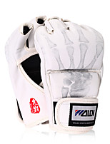 Boxing Gloves Pro Boxing Gloves Boxing Training Gloves for Boxing Fingerless Gloves Breathable Wearproof Protective PU