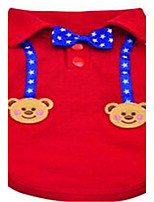 Dog Clothes/Jumpsuit Dog Clothes Spring/Fall Solid Cute