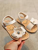 Girls' Sandals Summer Comfort PU Casual Flat Heel