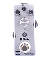 ENO EX Micro AD-6 Analog Delay Guitar Effect Pedal Compact MINI Size True Bypass