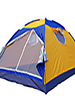 5-8 persons Tent Single Fold Tent Two Rooms Camping Tent 1500-2000 mm Fiberglass OxfordMoistureproof/Moisture Permeability Waterproof