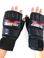 Боксерские перчатки для Бокс Без пальцев Защитный Нейлон КожаПерчатки